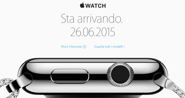 Apple Watch 26 giugno avrmagazine