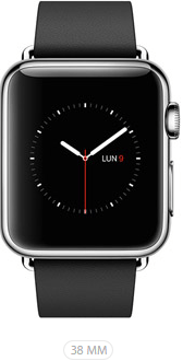 Apple Watch 38 Nero