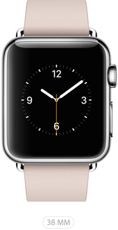 Apple Watch 38 Rosa