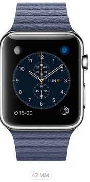 Apple Watch 42 Blu