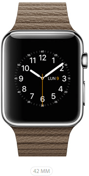 Apple Watch 42 Marrone