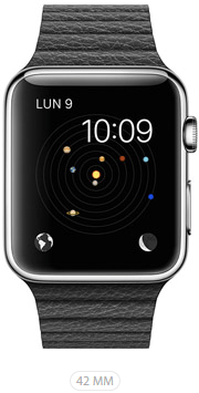 Apple Watch 42 Nera