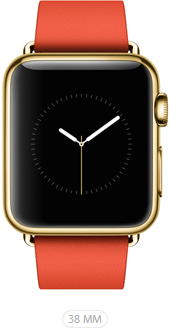 Apple Watch Limited 38 Rosso