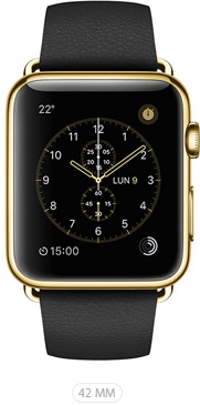 Apple Watch Limited 42 Nero