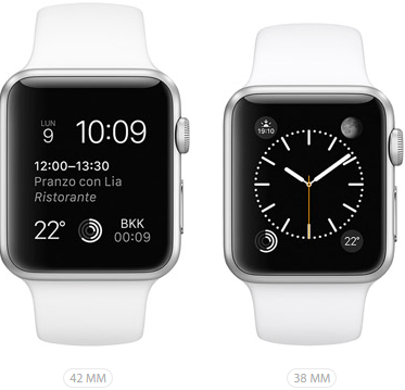 Apple Watch Sport Bianco