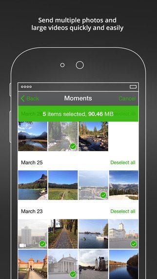 BitTorrent Shoot applicazioni per iphone avrmagazine 2