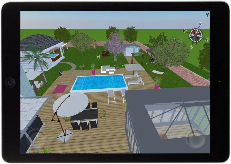 Design 3D Outdoor applicaizoni per iphone e android avrmagazine 2