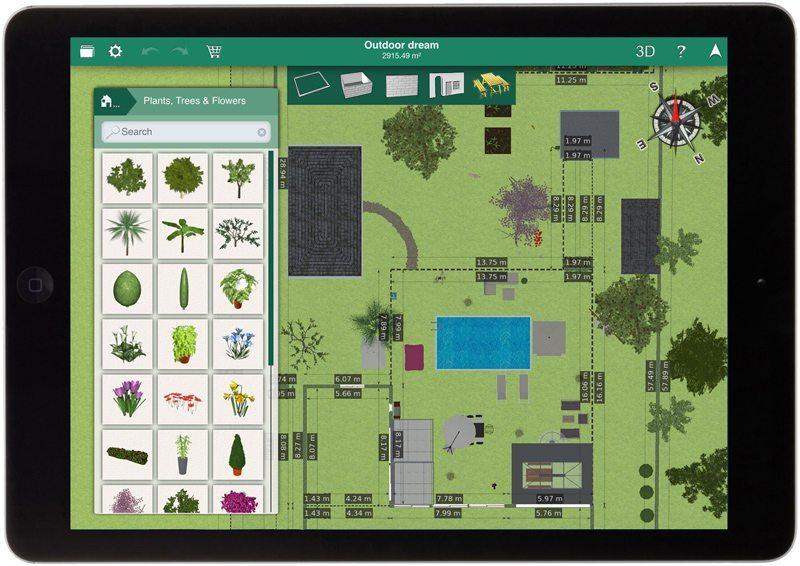Design 3d outdoor per ios e android for App progettazione giardini