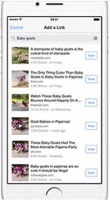 Facebook Link applicazioni per iphone avrmagazine