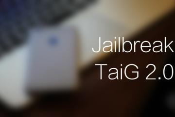 Jailbreak iOS 8.3 Taig 2.0 avrmagazine