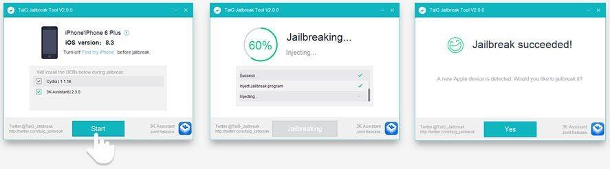 Jailbreak iOS 8.3 Taig 2.0 avrmagazine 1