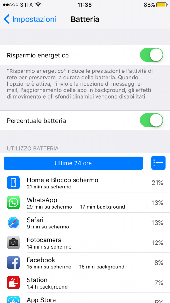 Low Battery Mode iOS 9 avrmagazine 2