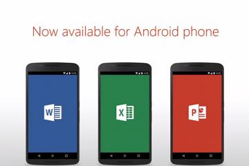Pacchetto Office applicazioni per android avrmagazine