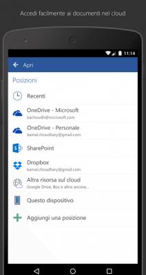 Pacchetto Office Word applicazioni per android avrmagazine