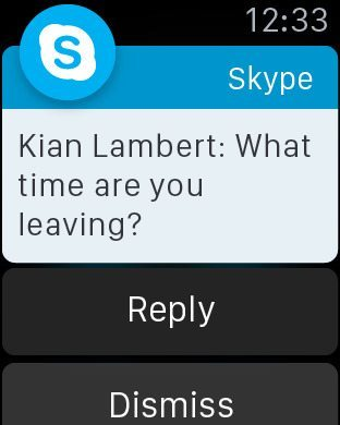 Skype per Apple Watch avrmagazine 2