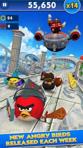 Sonic Dash e Angry Bird giochi per iphone avrmagazine 1