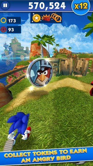 Sonic Dash e Angry Bird giochi per iphone avrmagazine 3
