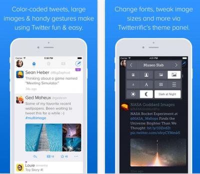 Twitterrific applicazioni per iphone avrmagazine