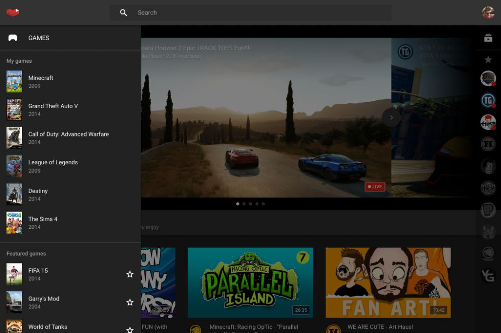 YouTube Gaming avrmagazine 1