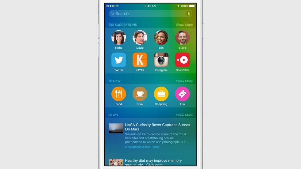 iOS 9 Proactive e Intelligence avrmagazine 1