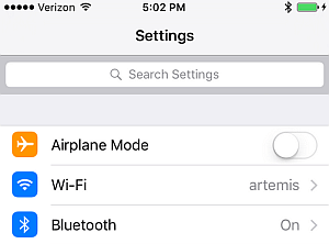 novita iOS9 impostazini ricerca novita iOS applicazioni iphone avrmagazine