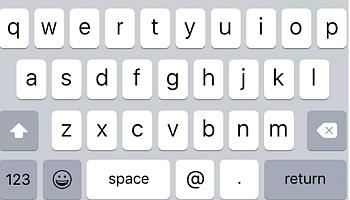 novita iOS9 tastiera minuscola novita iOS applicazioni iphone avrmagazine