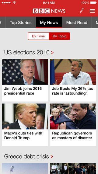 BBC News applicazioni per iphone avrmagazine 1