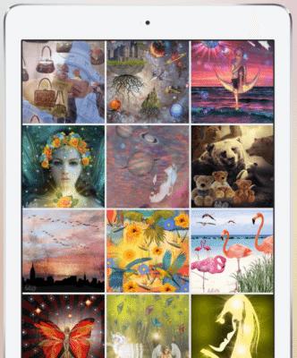 Un collage di Bazaart