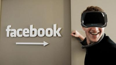 Facebook punta sulla realtà virtuale