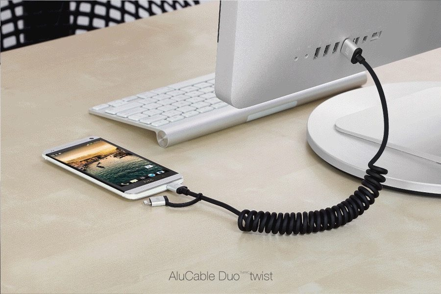 JustMobile AluCable Duo avrmagazine 2