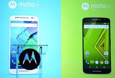 Moto X Style e Moto X Play 2015