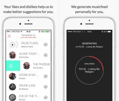 Music Sense applicazioni per iphone avrmagazine