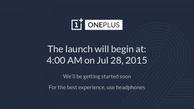 Il lancio dell'OnePLus 2 in diretta sull'app