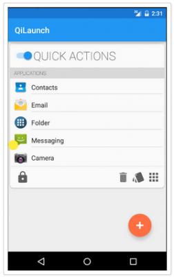 QiLaunch applicazioni per android AVRmagazine