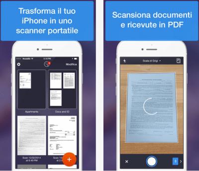 Scanner Pro applicazioni per iphone avrmagazine
