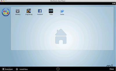 Bluestacks applicazioni per Mac OS X  Android
