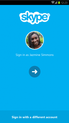 Skype Android 5.5  applicazioni per android avrmagazine
