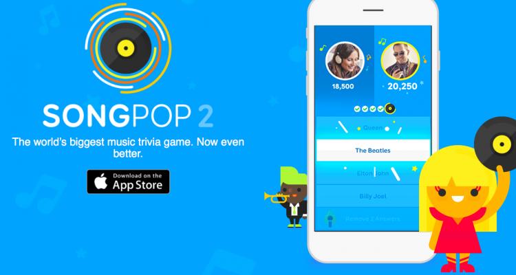 SongPop 2 giochi per iphone avrmagazine 1