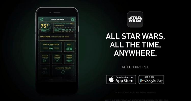 Star Wars App applicazioni per iphone e android avrmagazine