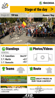 Tour de France 2015 by Skoda applicazioni per iphone e android avrmagazine