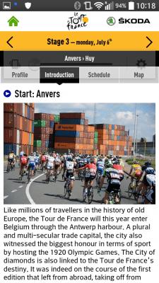 Tour de France 2015 by Skoda applicazioni per iphone e android avrmagazine