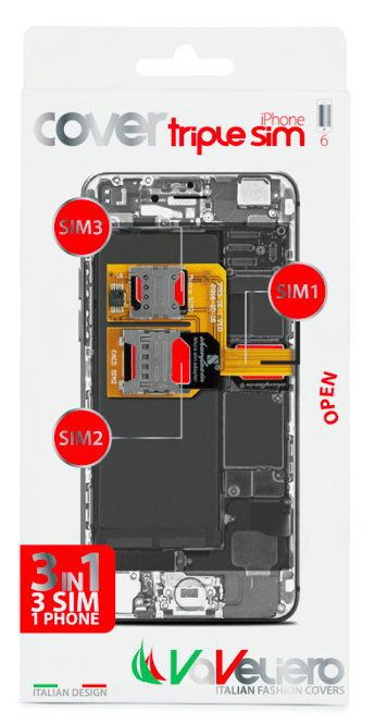 Vaveliero triple SIM cover per iPhone 6 avrmagazine 2