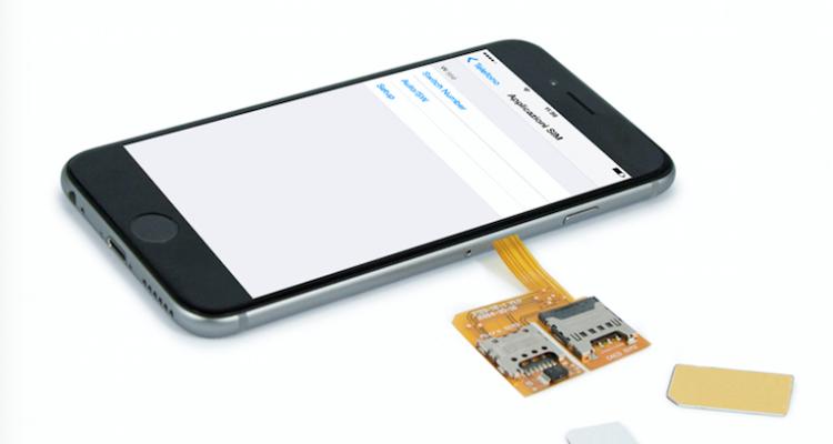 Vaveliero triple SIM cover per iPhone 6 avrmagazine 3