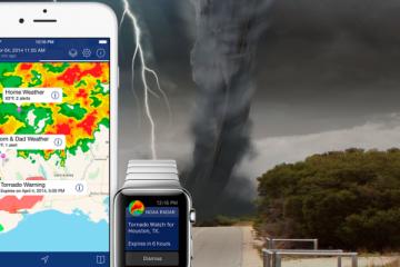 Weather Radar applicazioni per iphone avrmagazine