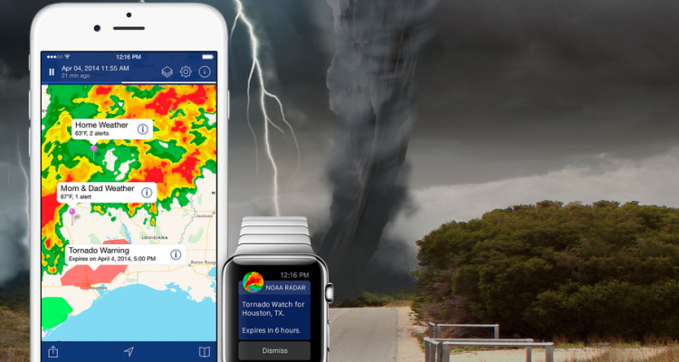 Weather Radar applicazioni per iphone avrmagazine