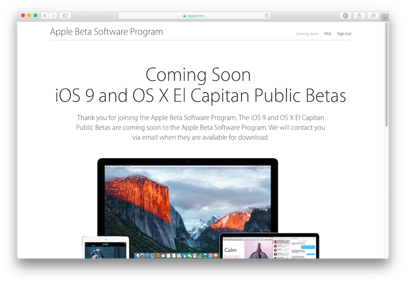 iOS 9 public beta avrmagazine 2