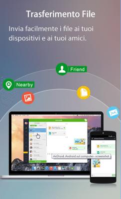 AirDroid si aggiorna alla versione 3.1.5