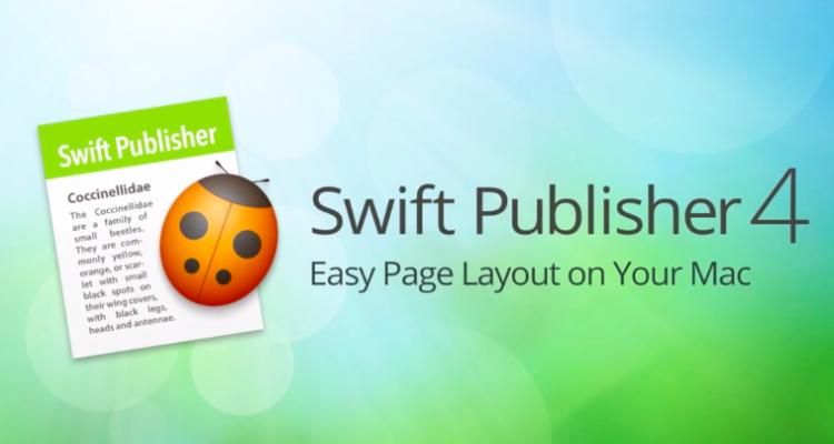 Swift Publisher 4 applicazioni per mac avrmagazine 1