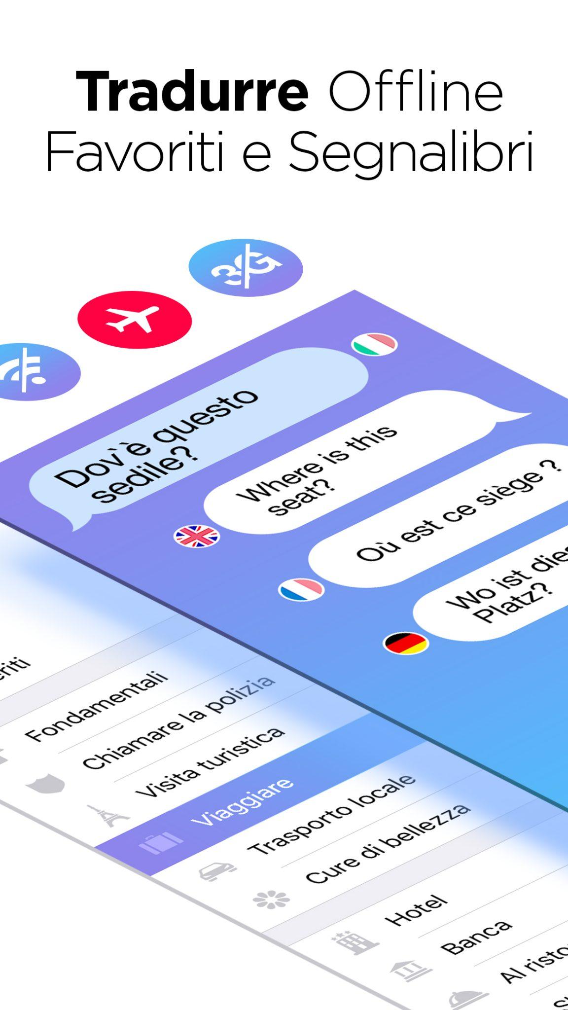 Traduttore vocale parla e traduci for Traduttore apple