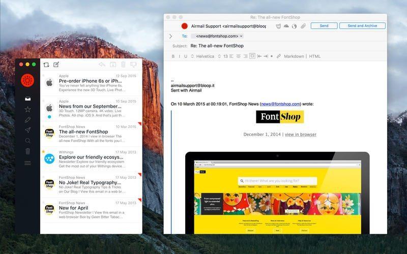 Airmail applicazioni per mac avrmagazine 4